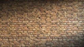 Representación de la pared de ladrillo 3d Fotografía de archivo