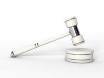 Representación de la venta 3D del martillo Imagenes de archivo