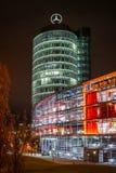 Representación de Mercedes Benz en Munich fotografía de archivo