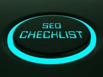 Representación de Seo Checklist Web Site Report 3d libre illustration