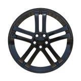 Representación del borde 3d en fibra de carbono Fotografía de archivo