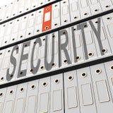 Representación del escudo 3d de la seguridad de la Data Loss Prevention libre illustration