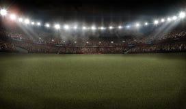 Representación del estadio de fútbol del fútbol americano 3D libre illustration