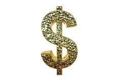 Representación del símbolo 3d de USD aislada en un fondo blanco Foto de archivo libre de regalías
