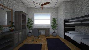Representación del sitio de estudiantes 3d imagen de archivo libre de regalías