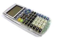 Representación gráfica de la calculadora gráficamente Imagen de archivo