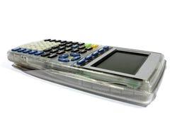 Representación gráfica de la calculadora gráficamente Imagen de archivo libre de regalías