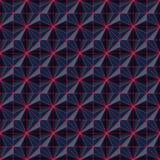 Representación inconsútil del fondo 3d del alambre moderno abstracto Imágenes de archivo libres de regalías
