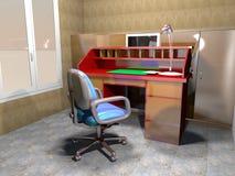 Representación casera de studio-3D Imágenes de archivo libres de regalías