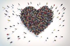 representación 3D del amor Foto de archivo libre de regalías