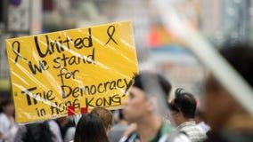 Representamos democracia Imagen de archivo libre de regalías