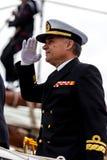Representant av skeppet Juan Sebastian de Elcano Royaltyfri Foto