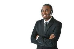 Representante de serviço ao cliente Foto de Stock Royalty Free