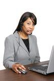 Representante del CSR del afroamericano Fotografía de archivo libre de regalías