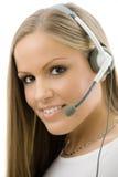Representante del servicio de atención al cliente Fotografía de archivo libre de regalías
