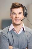 Representante/delegado de servicio de atención al cliente In Corporate Imagen de archivo