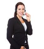 Representante/delegado de servicios de atención al cliente Imágenes de archivo libres de regalías
