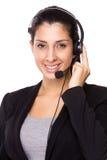 Representante/delegado de servicios de atención al cliente Fotos de archivo