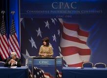 Representante. Kristi Noem en CPAC 2011 Imágenes de archivo libres de regalías
