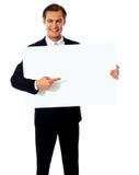 Representante masculino de una compañía Imagen de archivo libre de regalías