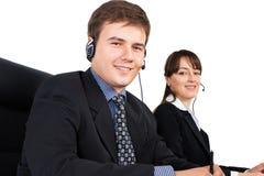 Representantes do apoio a o cliente Imagens de Stock Royalty Free