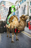 Representation on the camels to revive Karbala. Istanbul, Turkey - October 11, 2016: Representation on the camels to revive Karbala in the seventh century takes Royalty Free Stock Images