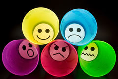 Representation of emotions Royalty Free Stock Image