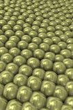 Background with blue tight pearls. Representation of overpopulation and social pressure Royalty Free Stock Photo