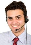Representativ di servizio di assistenza al cliente Fotografia Stock