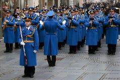 Representativ orkester av den serbiska armén Guard-2 arkivbild