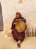 Representative of ancient Berber civilization Stock Image