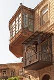 Baku. Representative balcony in downtown Baku Stock Photography