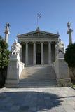 Representative building. Neoclassical representative building in ionian style stock image