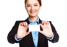 Representative of company Royalty Free Stock Image