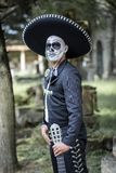Representative of the Day of the Dead. Representative of the Mexican Day of the Dead catrin Stock Images