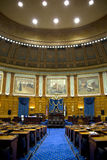 Representative meeting room in Mass State House Stock Photo