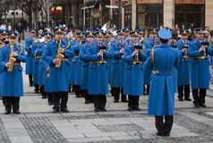 Representative Orchestra of the Serbian Army Guard Royalty Free Stock Photos