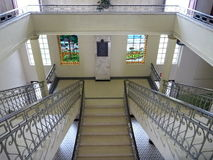 Representative staircase in a big historical building Royalty Free Stock Photos