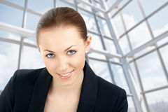 The representative of the world of business Stock Photography