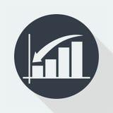 represente graficamente o projeto liso, projeto da matemática, projeto de dados Imagens de Stock Royalty Free