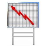 Represente graficamente a placa Imagens de Stock