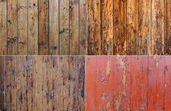 Represente o fundo, lote, pranchas de madeira, placas 1 Imagens de Stock
