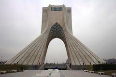Represente tomado da torre de Azadi do quadrado de Azadi Imagem de Stock Royalty Free