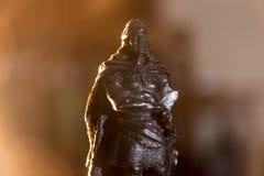 Representing ancient warrior Royalty Free Stock Photo