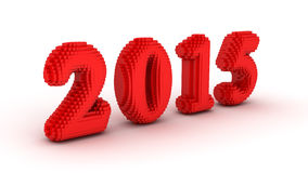Represents the new year 2015 Stock Image