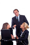 Reprimand at office Stock Photo