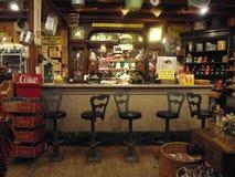 Reproducción de un shoppe antiguo de la soda en New Hampshire Imagenes de archivo