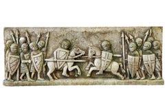Reproducción del friso medieval Fotos de archivo libres de regalías