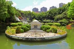 Reproducción del monumento de Jefferson en la ventana de Shenzhen del mundo fotografía de archivo