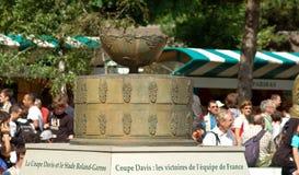 Reproducción del trofeo de la taza de Davis Imagen de archivo libre de regalías